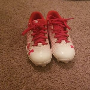 Under armour baseball cleats size 11k
